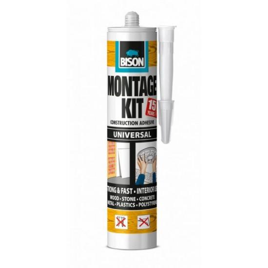 Bison Montage Kit Universal montāžas līme 440g