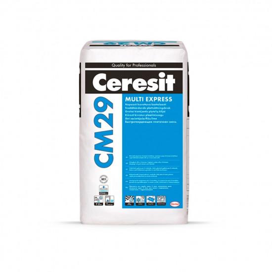 Ceresit ātri cietējoša flīžu līme CM29, C2FT, 25kg