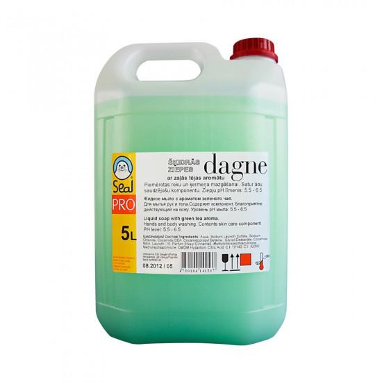 Dagne šķidrās ziepes ar zaļās tējas aromātu 5L