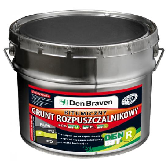 DenBraven bitumena grunts - BIT-R 11kg (melna)