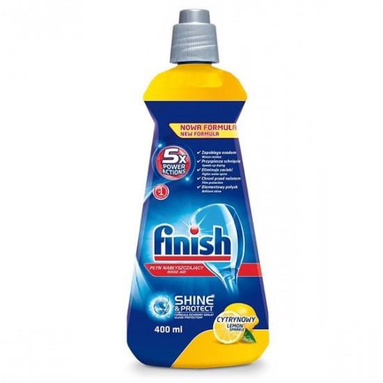 FINISH skalotājs trauku mazgāšanas automātiem LEMON 400ml