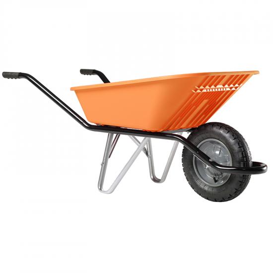 Ķerra HAEMMERLIN - CARGO SUNNY, plastmasas, pneimatisks ritenis, 100L, 120Kg