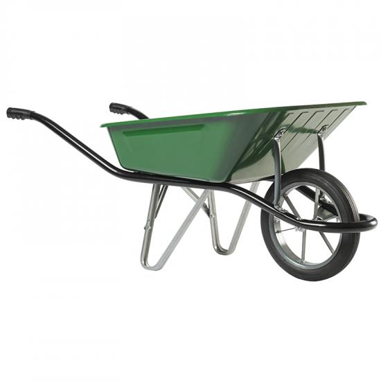 Ķerra HAEMMERLIN - CARGO MEDIUM 100, zaļa, pildīts ritenis, 100L, 150Kg