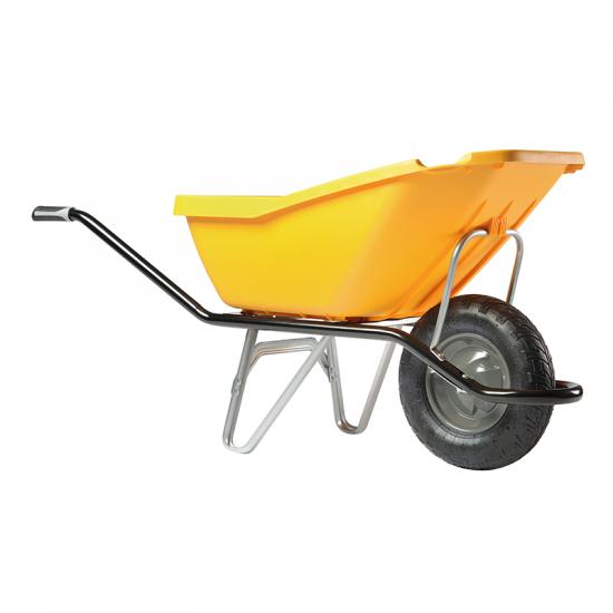 Ķerra HAEMMERLIN - CARGO PICK UP 110, plastmasas, pneimatisks ritenis, 110L, 160Kg