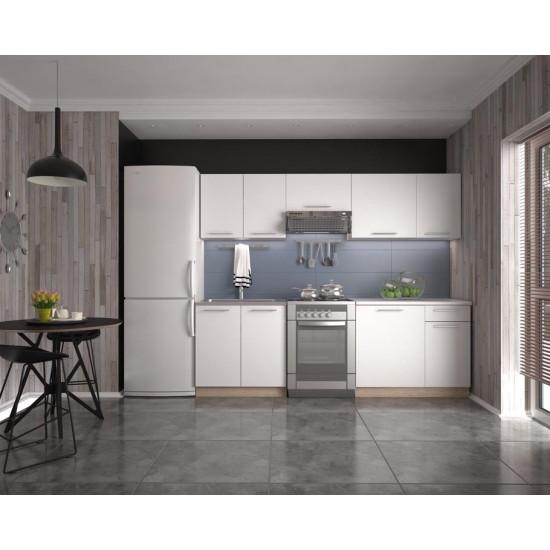 Virtuves komplekts Halmar Daria 240 (baltas krāsas fasāde)