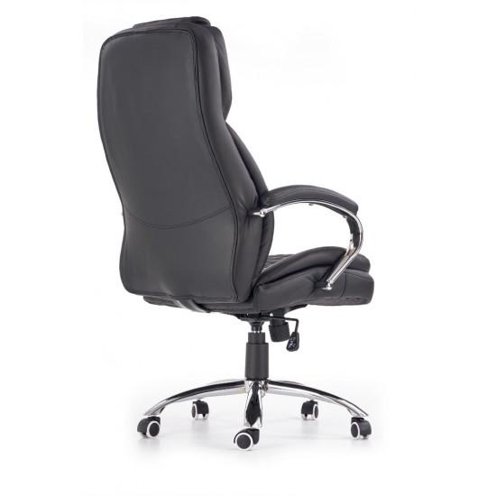 Biroja krēsls Halmar King,  (melns)