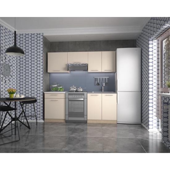 Virtuves komplekts Halmar Marija 200 (vaniļas krāsas fasāde)