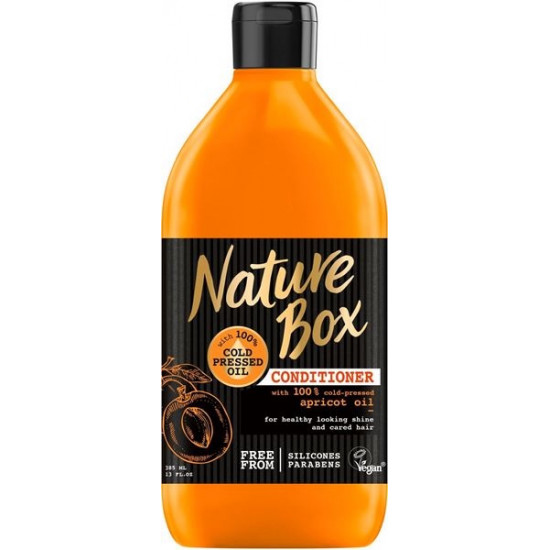 NATURE BOX balzams Apricot,385ml