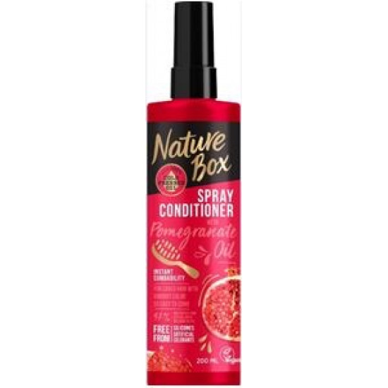 NATURE BOX izsmidzināmais balzams Pomegranate, 200ml
