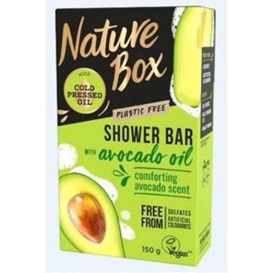 NATURE BOX cietā dušas želeja Avocado, 150g