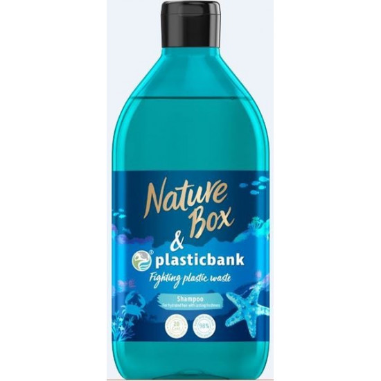 NATURE BOX šampūns Social Plastic, 385ml