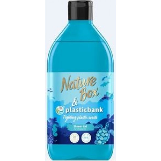 NATURE BOX dušas želeja Social Plastic, 385ml
