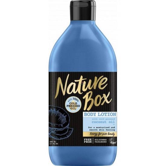 NATURE BOX ķermeņa losjons Coconut,385ml