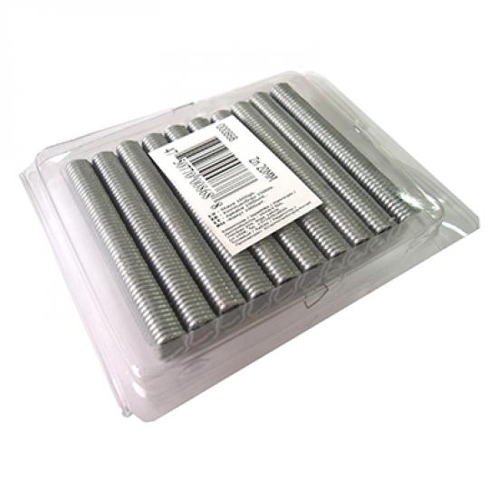 Metāla skava metinātajiem un pītajiem ruļļu žogiem (1000gb), Zn 20mm