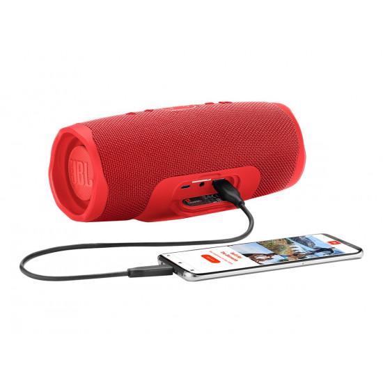 Portatīvā tumbiņa JBL charge 4, (sarkana)