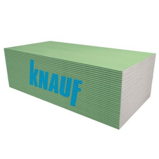 Ģipškartons KNAUF Green GKBI 12.5x1200x2000mm (2.4m2)