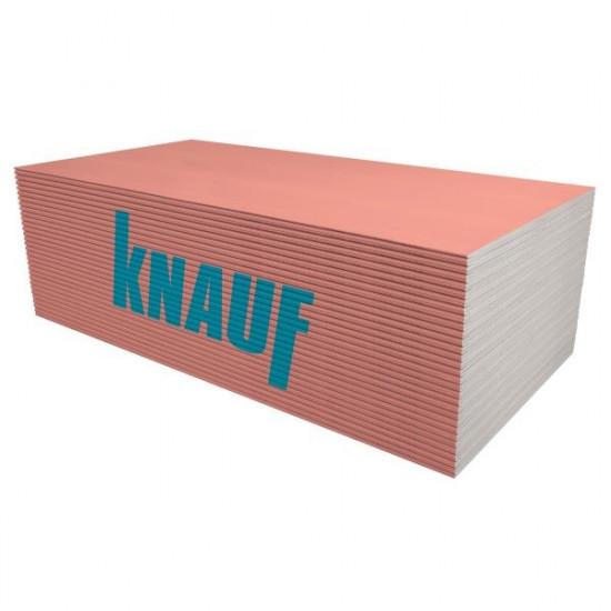 Ģipškartons KNAUF Red GKF 12.5x1200x2600mm (3.12m2)