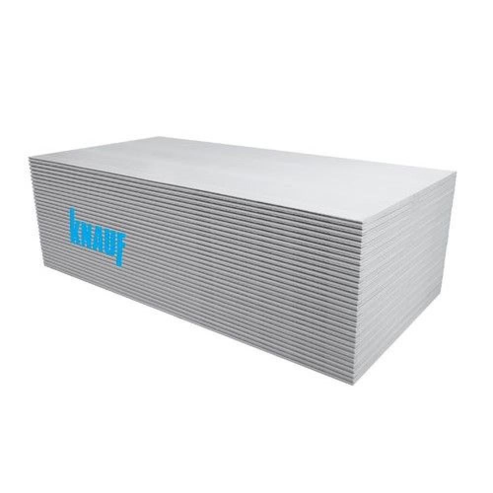 Ģipškartons KNAUF White GKB 12.5x1200x3000mm (3.6m2)