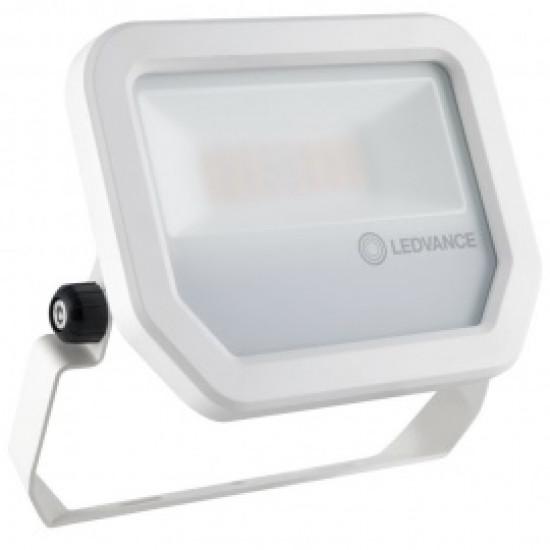 LED prožektors 10W 1050lm 3000K balts IP65 (Ledvance), 100°