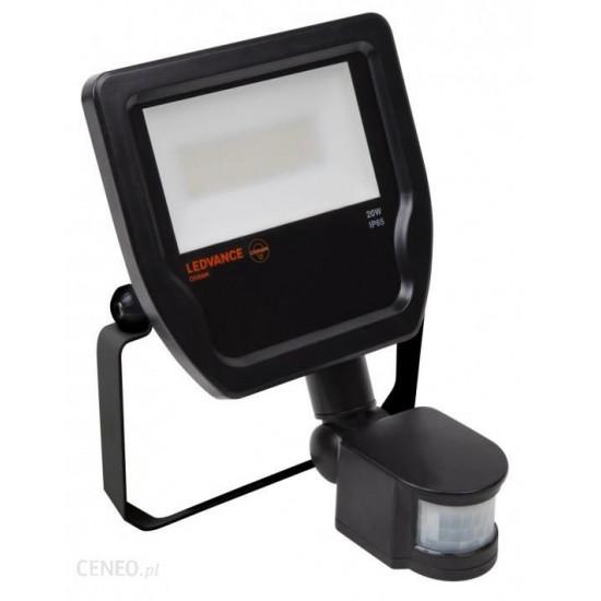 LED prožektors 10W 800lm 4000K melns IP65 (Ledvance), 100°