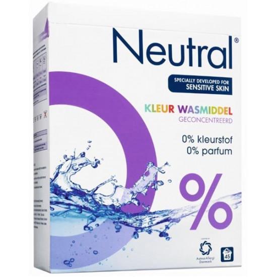 NEUTRAL veļas pulveris COLOR, 3kg
