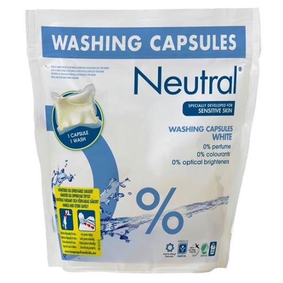 NEUTRAL veļas mazgāšanas kapsulas ACTIVE CLEAN, 22x35ml