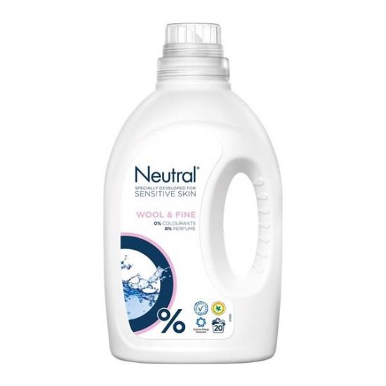 NEUTRAL veļas mazgāšanas līdzeklis W&FINE, 1000ml