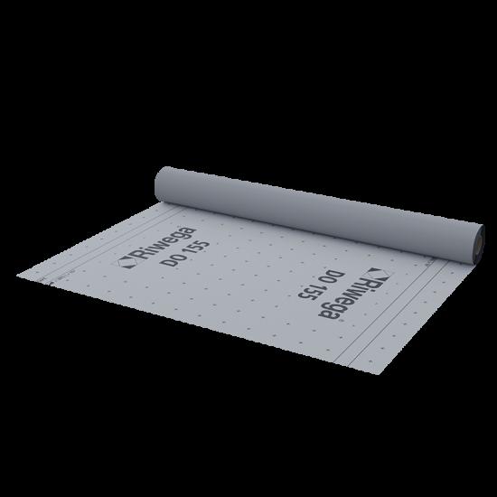 Difūzijas membrāna jumtiem, sienām Riwega DO155 1.5x50m (ārdarbiem)