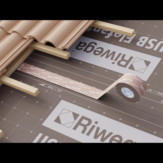 Membrānu savienošanas lenta Riwega USB Tape strong 60mm, 25m( iekšdarbiem, ārdarbiem)