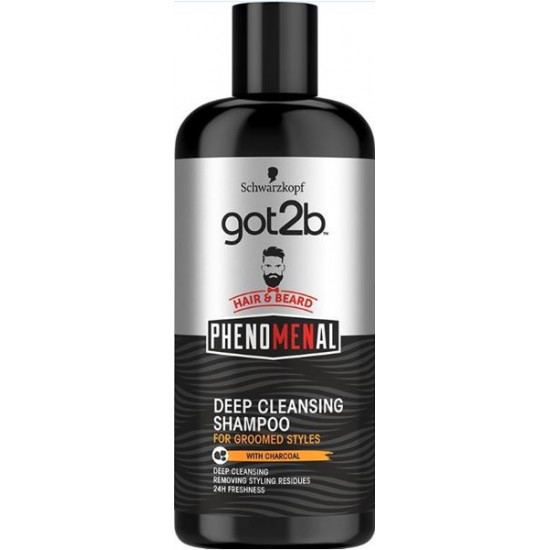GOT2B šampūns Phenomenal Deep Cleansing,250ml