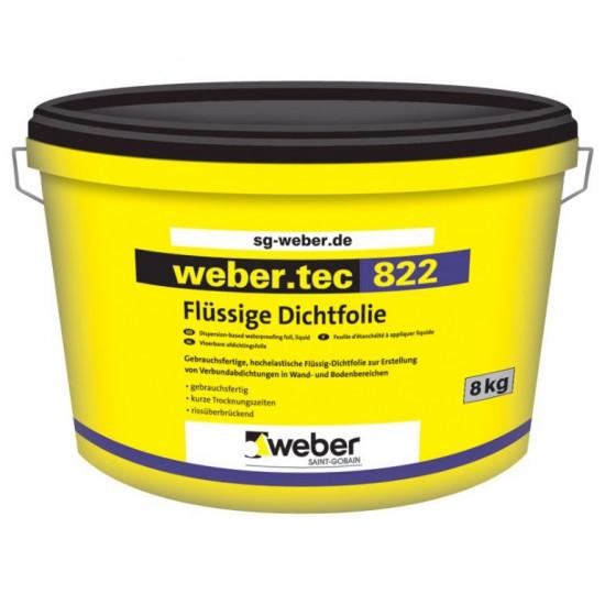 Weber .tec 822 elastīga hidroizolācijas mastika 24kg