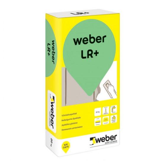 Weber LR+ nobeiguma špaktele sausām telpām 20kg