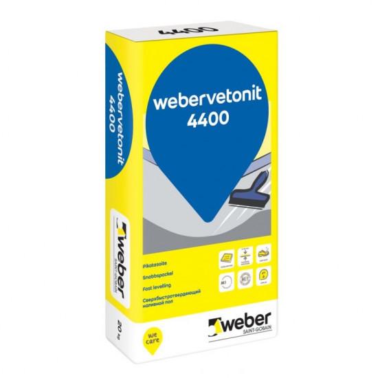Weber Floor 4400 grīdas izlīdzinātājs 20kg